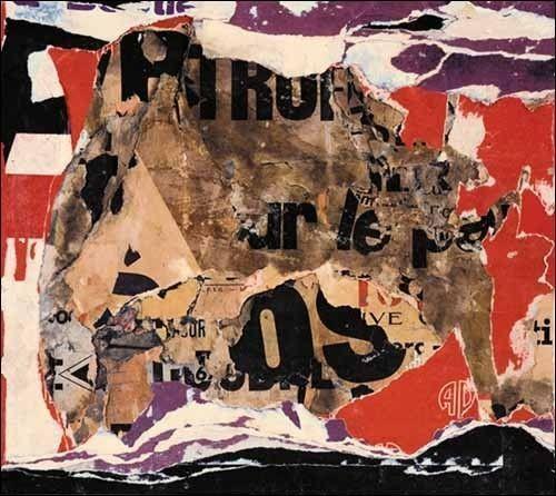 L'affiche lacérée, l'alliance de la lettre et de la couleur.