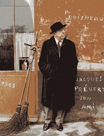 Jacques Prévert et le graffiti.