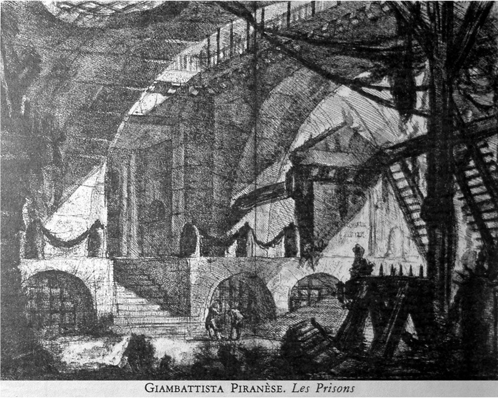 Les prisons de Piranèse un décor pour Sade.