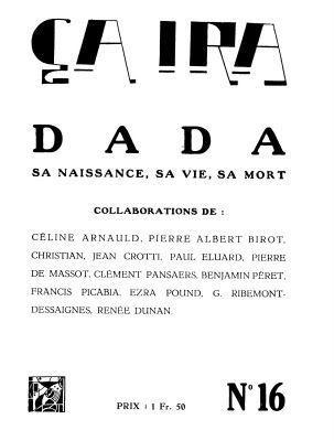 """Renée Dunan chez """"dada""""."""